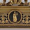 Spegel, gustaviansk, 1700-talets slut.