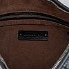 Bottega veneta, black leather bag.