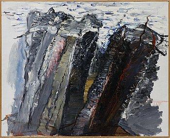 Ingegerd Möller, oil canvas. Signed.
