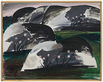 Ingegerd Möller, oil on canvas.