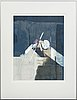 Anders österlin, , 2 signed and numbered colour serigraphs 29/95 and 124/125.