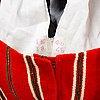 A swedish 19th century folkdress, ten parts,  delsbo, hälsingland, sweden.