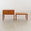 Aksel kjersgaard, a table and bureau denmark 1960s.