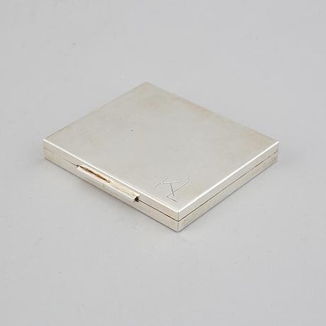 Wiven nilsson, a sterling silver case, lund 1960.