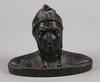 Okänd konstnär, skulptur, brons. 1900-talets början.