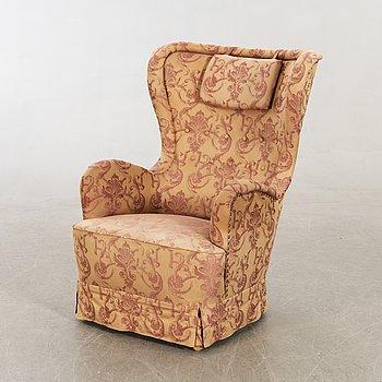 Armchair / Ear flap armchair, mid-20th century.