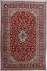 A carpet, kashan, ca 318 x 206 cm.
