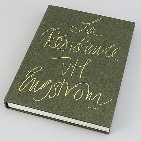 Jh engström, two photobooks, 'trying to dance' & 'la résidence', one signed.