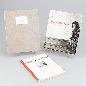 "Francesca Woodman, 2 photobooks, ""Photographie"", ""Francesca Woodman"" & ""Francesca Woodman Roma 1977-1981""."