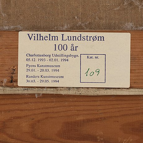 Vilhelm lundström, stående modell.