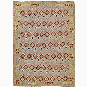 A carpet, kilim, ca 294 x 219 cm.