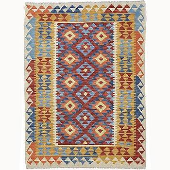 A rug, kilim, ca 168 x 124 cm.