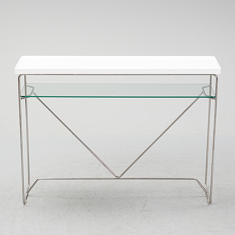 A 2ist century  occasional side table by calligaris, italy,