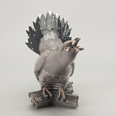 Figurine bing & gröndahl denmark second half of the 20th century porcelain.