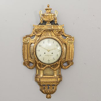 Nils Berg, a late Gustavian wall clock.