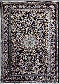 A carpet, Kashan ca 415 x 300 cm.