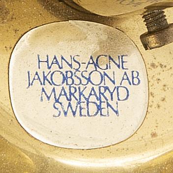Hans-agne jakobsson, taklampa  markaryd, 1960-tal.