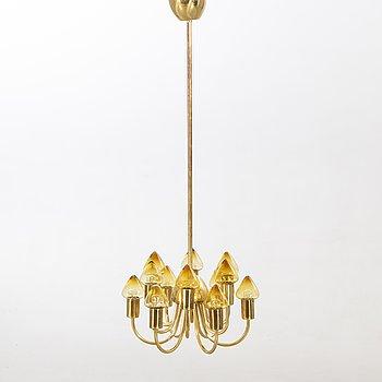 Hans-Agne Jakobsson, ceiling lamp Markaryd, 1960s.