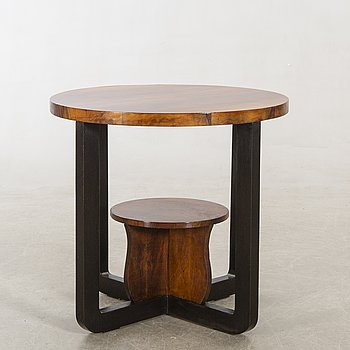 An Art Deco-style table later part of the 20th century.