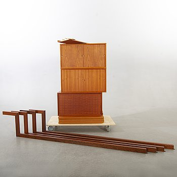 "Poul Cadovius, ""Royal System"", shelf system, teak."