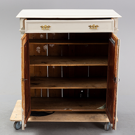 A painted sideboard, late 19th century.