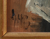 OkÄnd konstnÄr, olja på pannå, sign. 1900-talets första del.