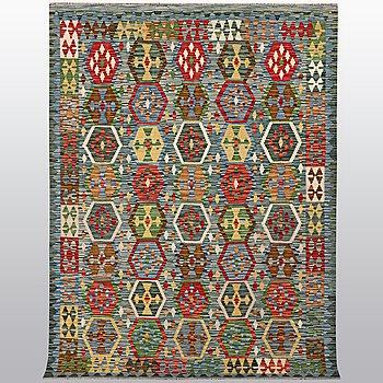 A rug kilim, ca 244 x 176 cm.