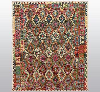 A rug, kilim, ca 233 x 184 cm.