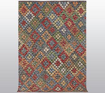 A rug, kilim, ca 248 x 168 cm.