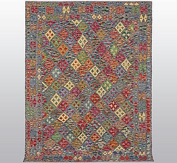 A carpet, kilim, ca 240 x 174 cm.