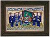 A set of five paintings by unknown chinese artist, qing dynasty, 19th century.