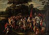 Frans francken ii, in the manner of, 18th century, oil on canvas.
