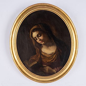 Carlo Dolci, in the manner of, oil on canvas.