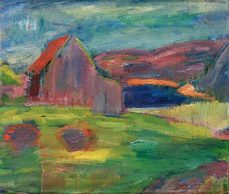 Folke andréasson, bohusländskt landskap.
