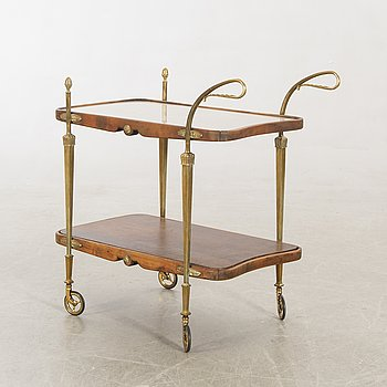 A mid 1900s serving trolley.