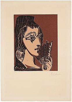 """787. Pablo Picasso, """"L'espagnole""""."""