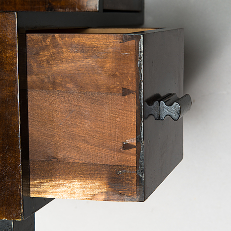 Mikko s. nupponen, a 1930's compartment table, mikko nupposen huonekalutehdas, lahti, finland.