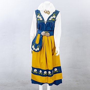 A Swedish folklore costume later part of the 20th century.