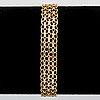 Bracelet 18k gold, 11,5 g, approx 19 x 1 cm.