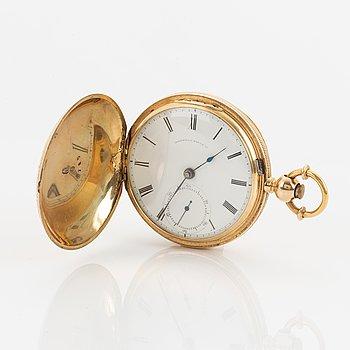 American Watch Company, Waltham, fickur, savonett, 54 mm.