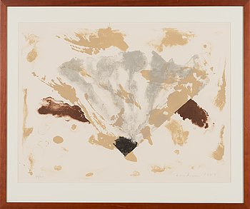 Tero Laaksonen, lithograph, signed and dated 1989, numbered 30/30.