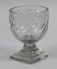 BonbonjÄr, glas, empire, tidigt 1800-tal.