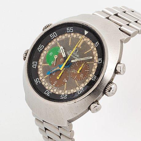 "Omega, flightmaster, kronograf, ""tropical dial""."