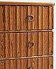Göran malmvall, probably, a swedish modern pine chest of drawers, karl andersson & söner möbelfabrik, mid 20th century.