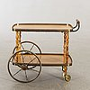 Serving trolley, probably italy, about 1950s.