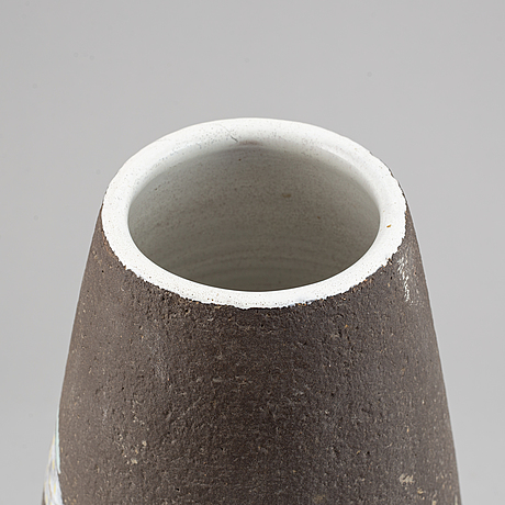 """Anna-lisa thomson, vase, """"havsflora"""", upsala ekeby, 1950's."""