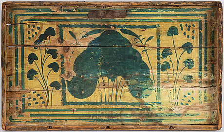 A wall panel, 18th century.