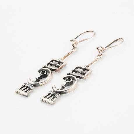 Jorma laine silver earrings.