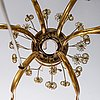 Paavo tynell, a mid-20th-century chandelier for taito, finland.
