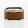 Bertel gardberg, a bowl for hopeatehdas oy, helsinki/ finnmade gardberg, norrmark handicraft.